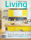 Martha Stewart Living, January 2012 cover